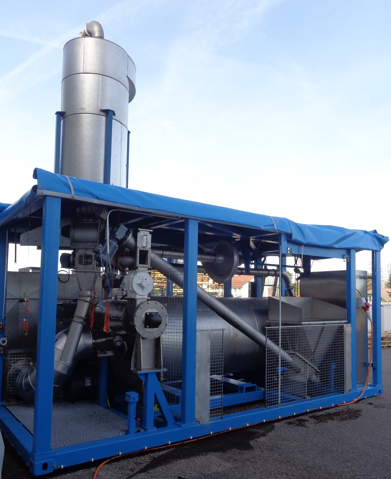 SWISS COMBI ecoDry indirect heated drum dryer